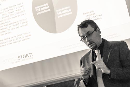 Paolo Storti - Amministratore delegato di Studio Storti Srl